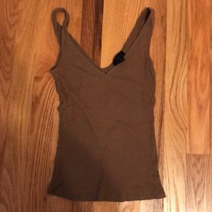 Express double sided vneck boyfriend tank
